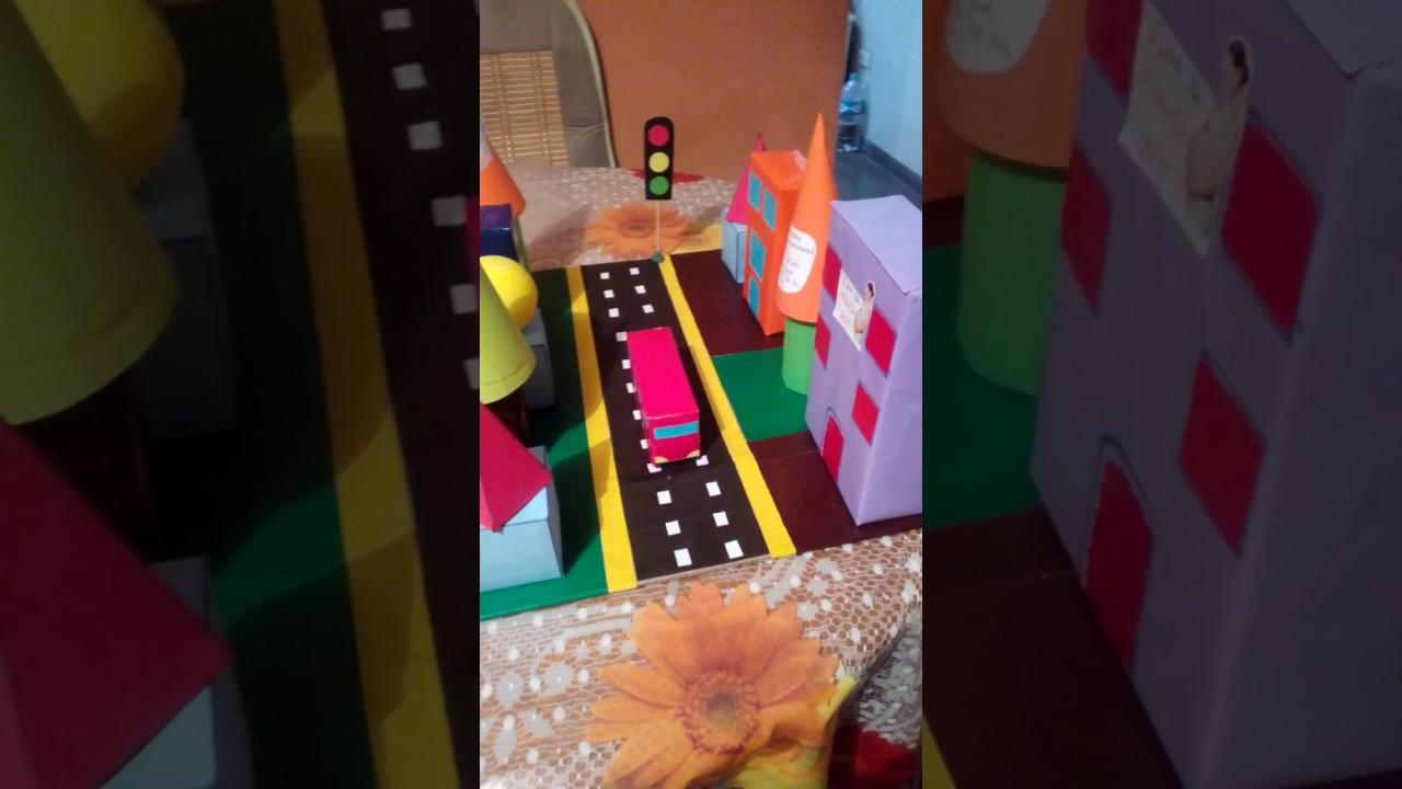 Maqueta con figuras geom tricas youtube - Como hacer figuras con chuches ...