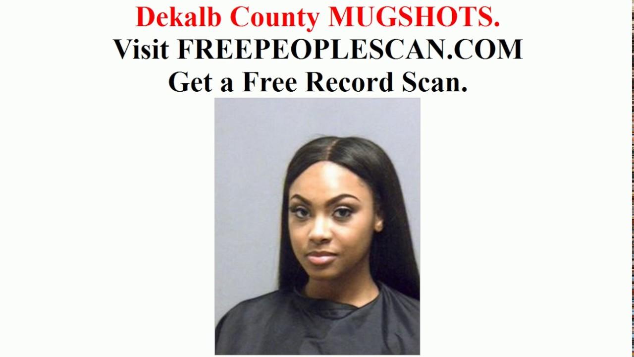Dekalb County Mugshots 2018