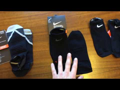 Speed Review & Comparison: Nike Dri Fit Socks; Elite, Performance No Show Under Armor Heatgear