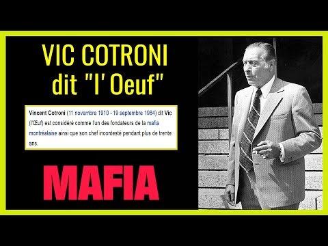 Mafia.Vic COTRONI. Chef de gang calabrais à Montréal
