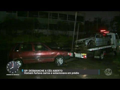 SP: Polícia prende suspeito de manter desmanche no próprio condomínio | Primeiro Impacto (31/10/17)