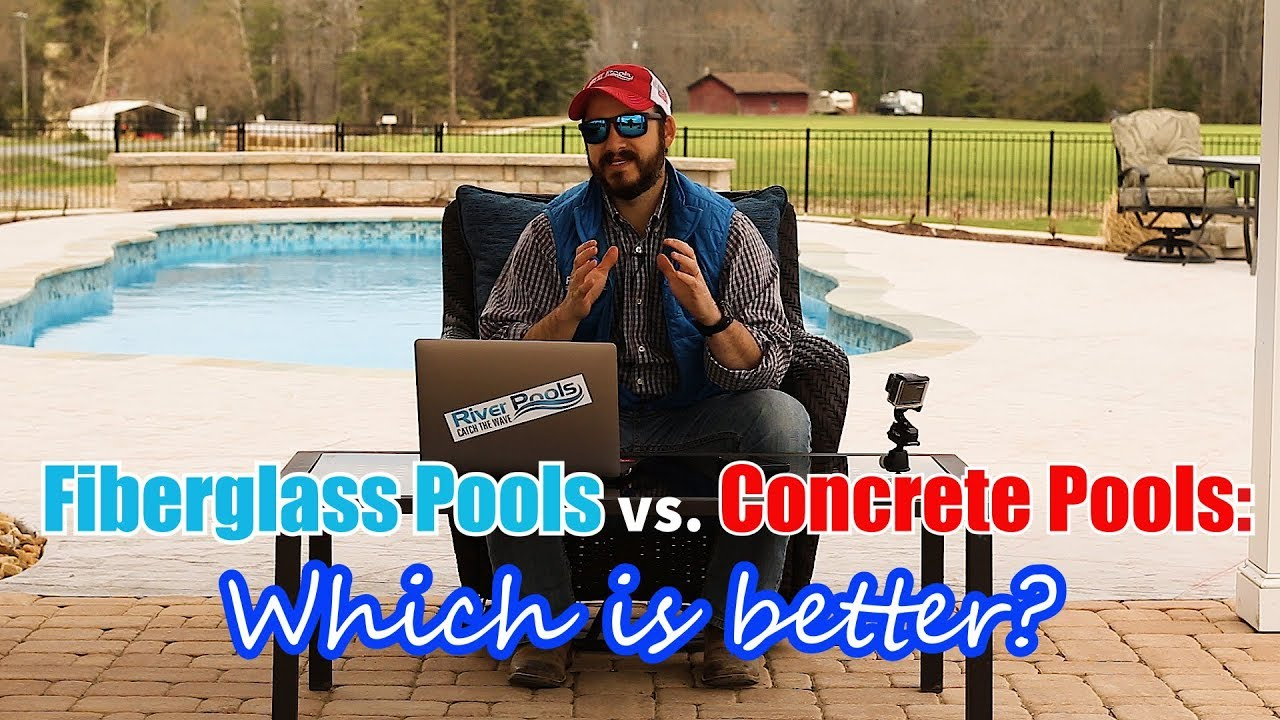 Fiberglass Swimming Pools vs Concrete Swimming Pools: Which is Better?