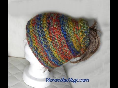 Häkeln – Mütze für Pferdeschwanz – Veronika Hug