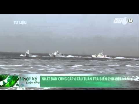 VTC14_Nhật Bản cung cấp 6 tàu tuần tra biển cho Việt Nam
