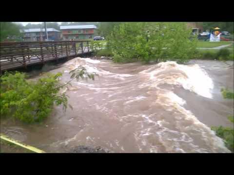 Siloam Springs AR Flooding 4/29/2017