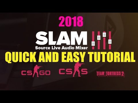 How to Download SLAM for CSGO - Play Music Through your Mic [2018 Tutorial]