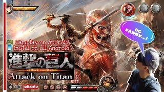 Attack On Titan For Android  Singekhi No Kyojin  | Instal-gameplay Indonesia 201