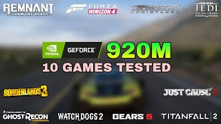 nvidia GeForce 920M Gaming Test ! 2019
