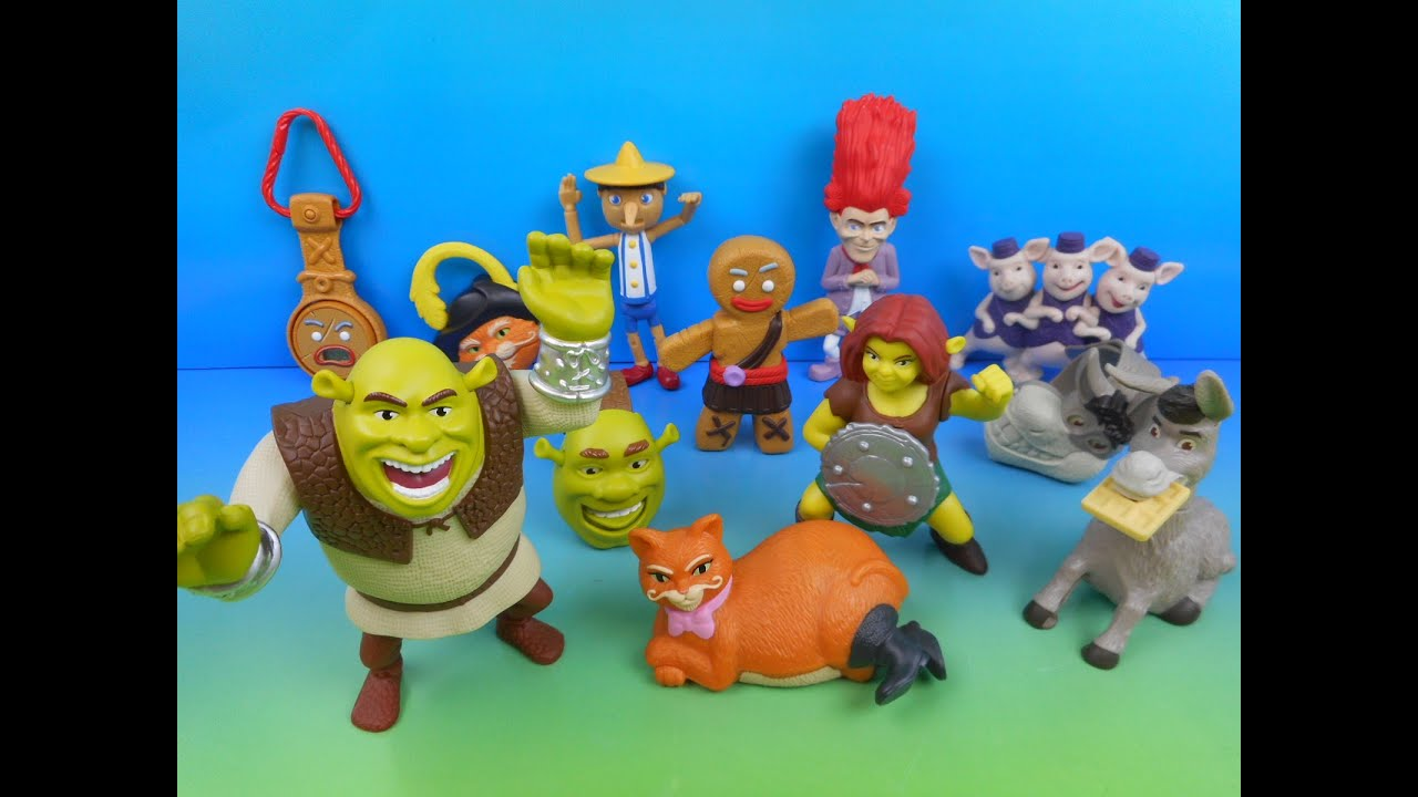 2010 SHREK FOREVER AFTER BOXED SET OF 12 McDONALD\u0027S HAPPY MEAL ...