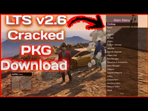 [PS3/GTA 5/1 27/1 28] LTS 2 6 Online Cracked PKG Mod Menu | Free Download