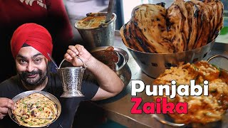 Dinner at PUNJABI ZAIKA with SHAKTIMAAN