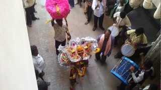 Puli Vesham Dance at Vizianagaram Paiditalli sambaram