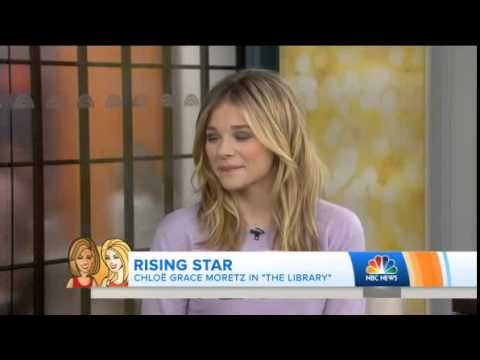 Chloë Grace Moretz Talks About Her Off-Broadway Play 'The Library' on TODAY Show - April 17, 2014