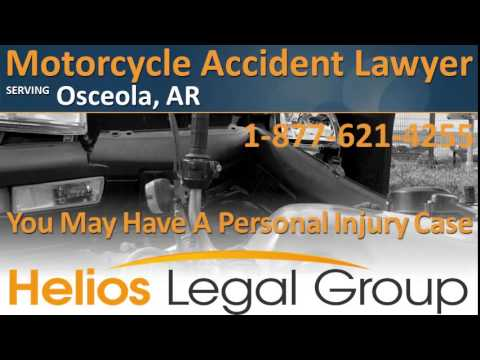 Osceola Motorcycle Accident Lawyer & Attorney - Arkansas