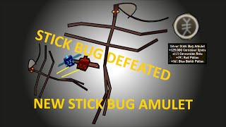 STICK BUG CHALLANGE - TIPS & TRICKS - NEW SILVER STICK BUG AMULET | Roblox Bee Swarm Simulator