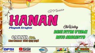 HANAN Music-CAHAYA Pro.-CSB Shooting-The Wedding//DESI FITRI UTAMI & RICO ARDIANTO