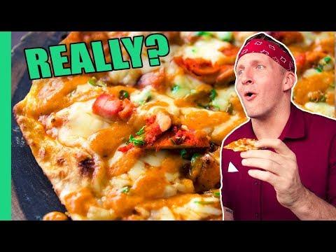 Deadly Indian Pizza in New Delhi, India! Plus the CRAZIEST Pizzas around Asia!