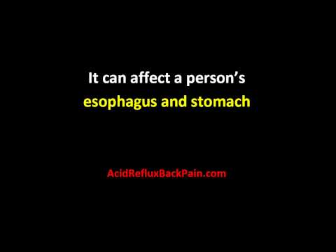 Acid Reflux Back Pain | Acid Reflux Back Pain Tips and Guide