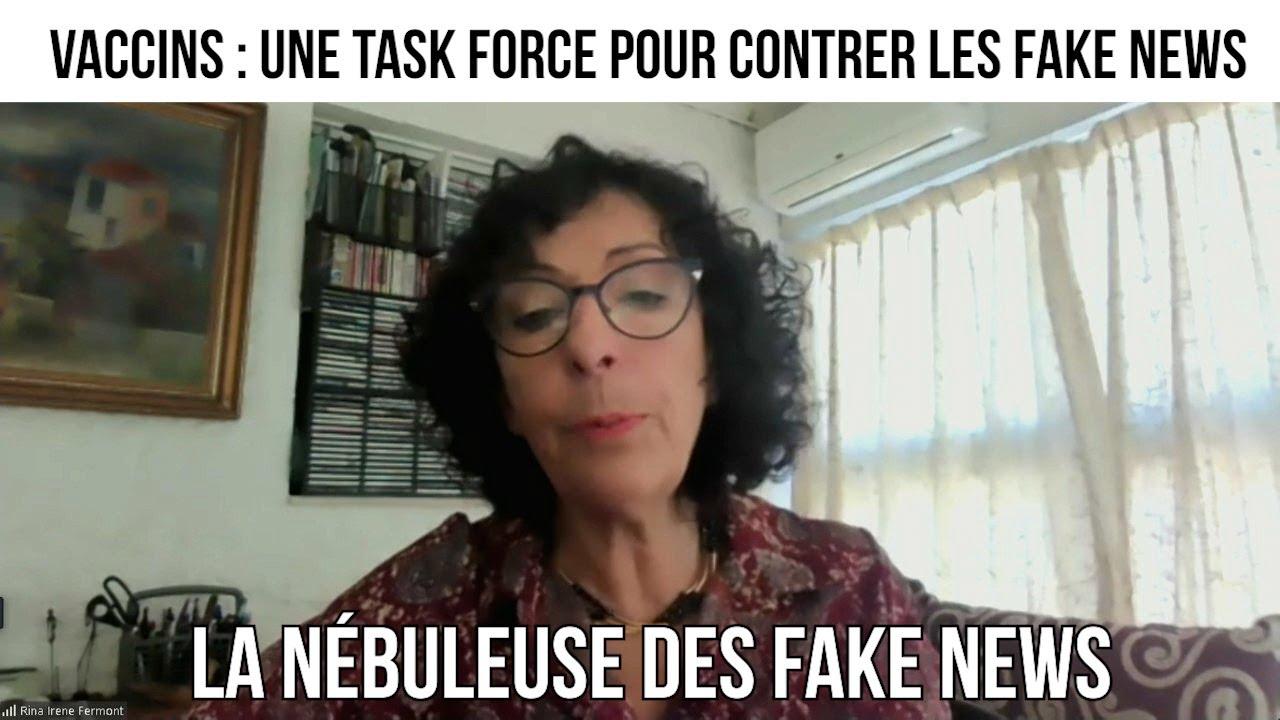 Vaccins : une task force pour contrer les fake news