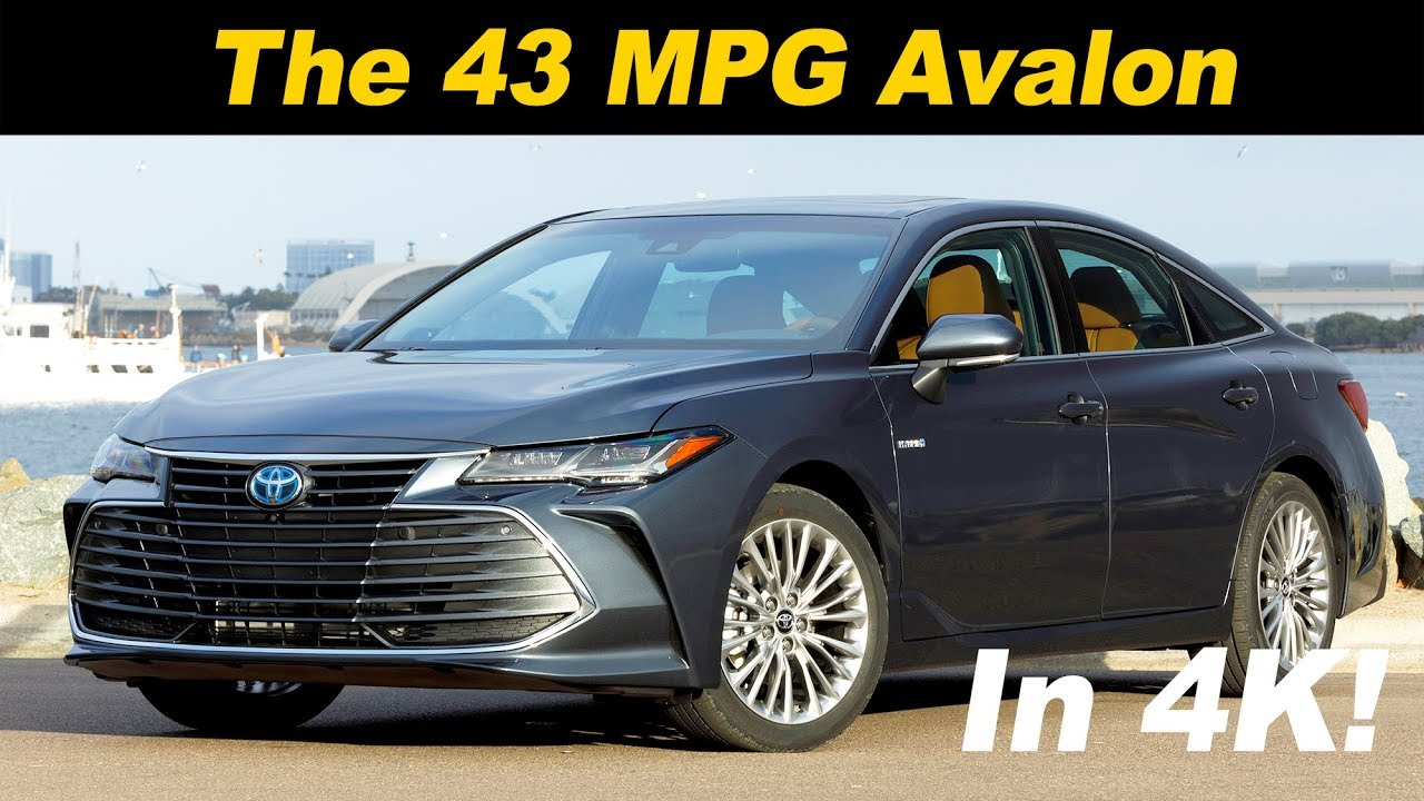 2019 Toyota Avalon Hybrid Review First Drive