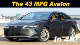 2019 Toyota Avalon Hybrid Review - First Drive