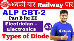 6:00 AM - RRB ALP CBT-2 2018 | Electrician & Electronics by Ramveer Sir | Types of Diode