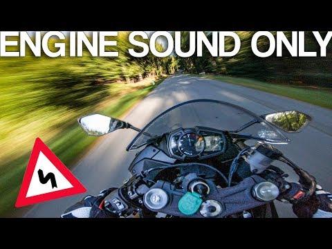 Kawasaki Ninja ZX-6R Akrapovic sound [RAW Onboard]