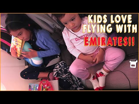 The MOST Fun We Had on A FLIGHT With 2 KIDS | EMIRATES AIRLINE From Dubai to Seychelles