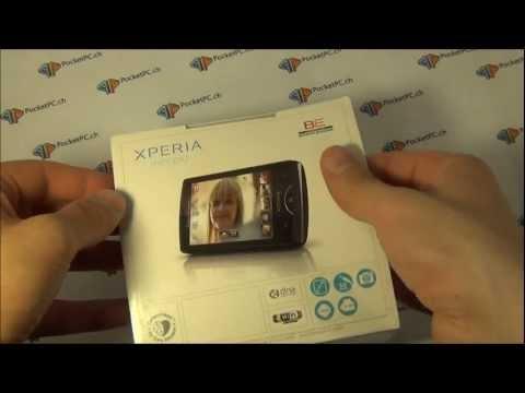 Sony Ericsson Xperia Mini Pro wird ausgepackt und vorgestellt