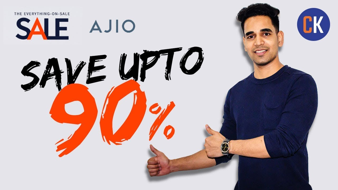 92c344001bfc21 Ajio Sale: Everything on Sale - Save Upto 90% on Ajio Online Shoping ...