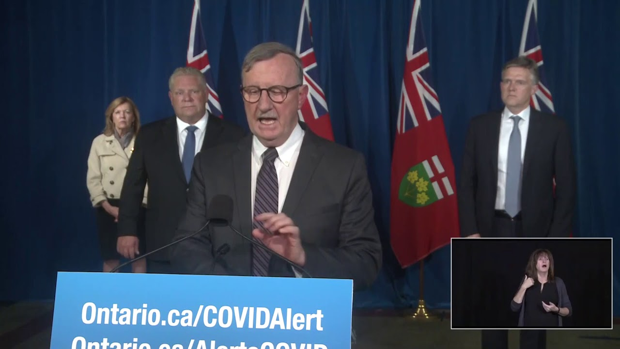 Ontario Premier Doug Ford Provides COVID-19 Update | November 20