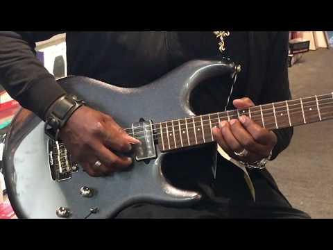 Ernie Ball Music Man Luke III HH - Bhodi Blue