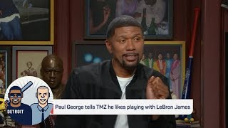 Jalen Rose: If LeBron and George want to play together, it