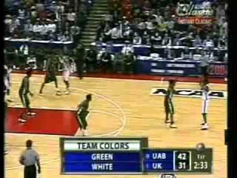 UAB vs Kentucky Basketball 2004