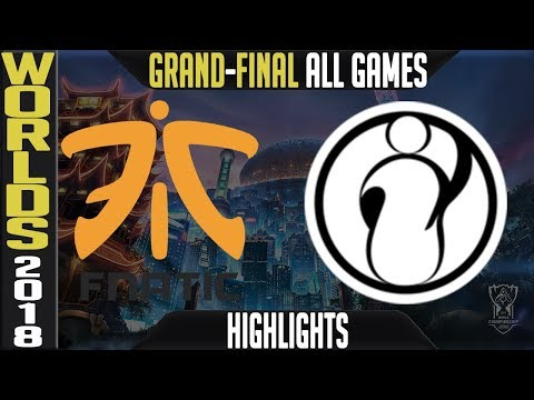 FNC vs IG Highlights ALL GAMES | Worlds 2018 Grand-final | Fnatic vs Invictus Gaming