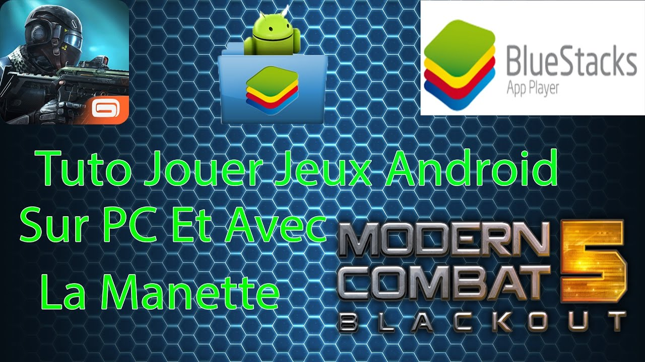 jouer modern combat 5 jeux android sur pc avec la manette fr 2017 youtube. Black Bedroom Furniture Sets. Home Design Ideas