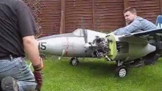 Radial Powered R/C Tigercat - Read video description before commenting