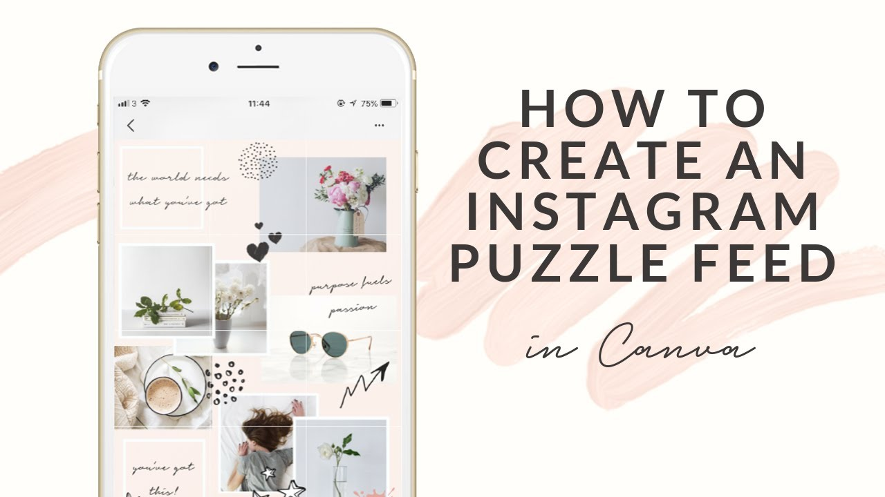 Instagram Puzzle Feed Template in Canva | Steph Taylor