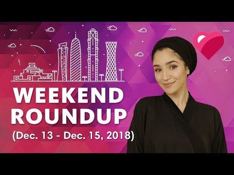 Top 5 Qatar Events (December 13 - 15, 2018)