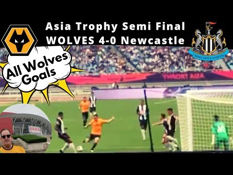 🏆 In with the Fans as Wolves thrash Newcastle 4-0 In EPL Asia Trophy in Najing