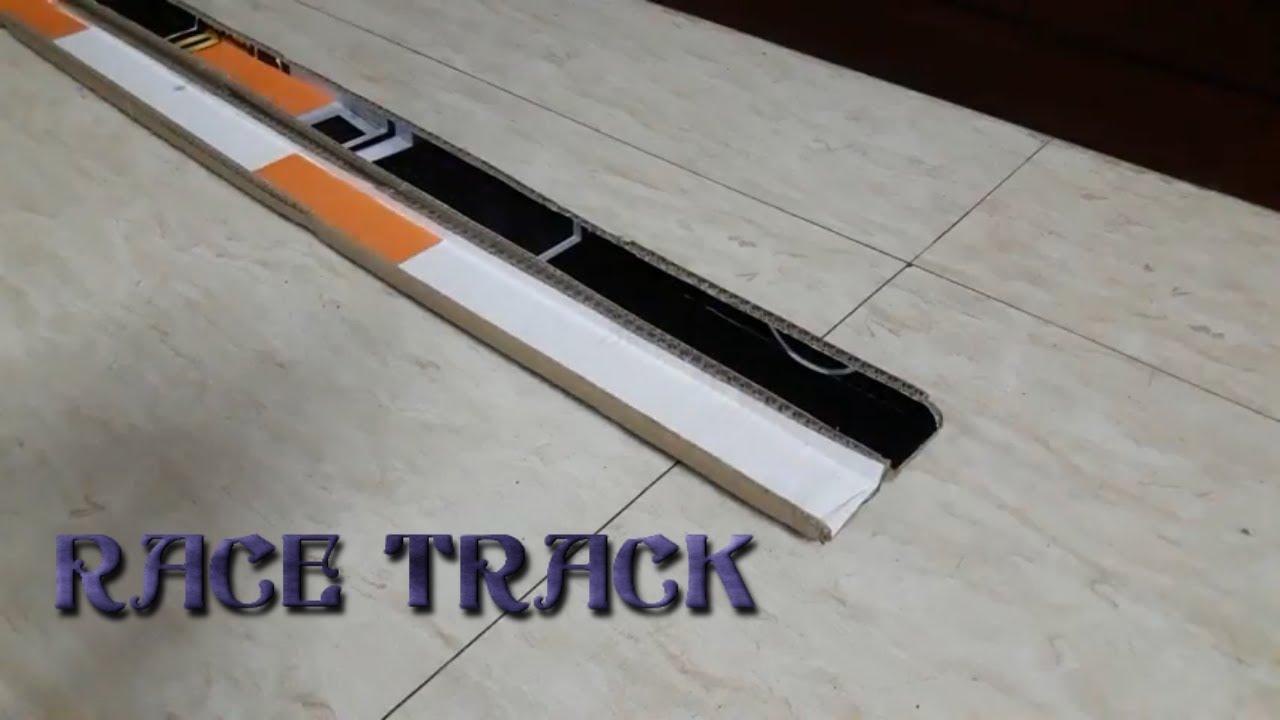 How To Make A Hot Wheels Car Track Using Cardboard Simple Diy Tutorial