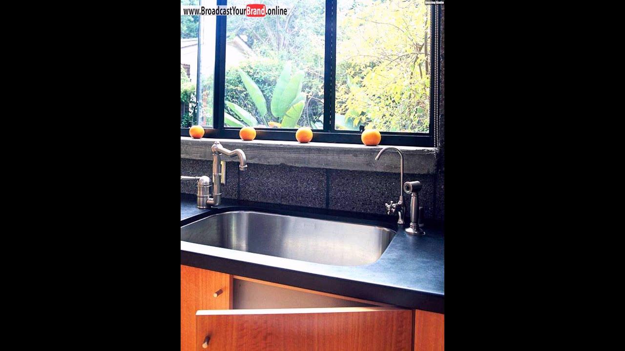 Dunkle Mosaik Ideen Für Küchenrückwand Designs - YouTube