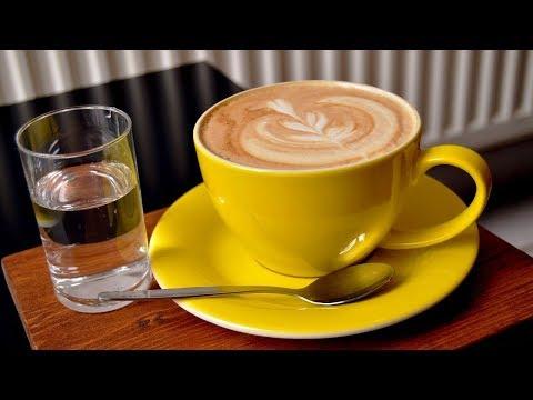 Почему кофе следует всегда запивать прохладной водой