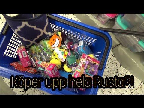 Vlogg || KÖPER UPP HELA RUSTA?!