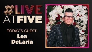 Broadway.com #LiveatFive with Lea DeLaria of COLLECTIVE RAGE: A PLAY IN 5 BETTIES
