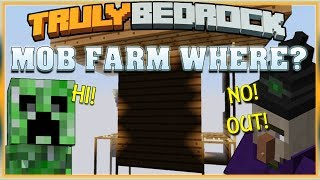 Truly Bedrock S1 EP16 Mob Farm Where!?[ Minecraft, MCPE, Bedrock Edition ]