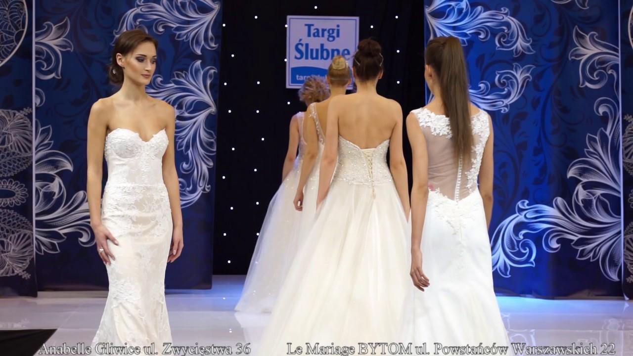 7819ec9e2b pokaz suknie ślubne Katowice 2017 - YouTube