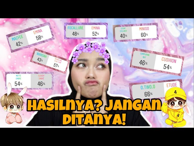 MY FOLLOWERS CONTROL MY MAKEUP! | Indira Kalistha