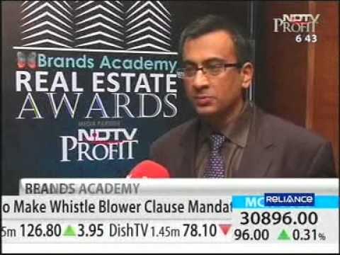 Real Estate Awards Telecast on NDTV Profit