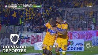 ¡GOL! Enner Valencia de penal a lo 'Panenka' | Tigres 1-1 Monterrey | Final IDA Apertura 2017